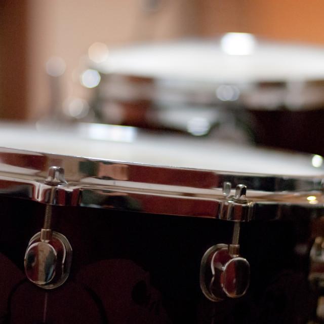 """Drum detail tom"" stock image"