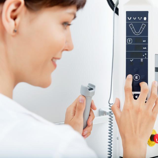 """""""X-ray Machine Detail"""" stock image"""