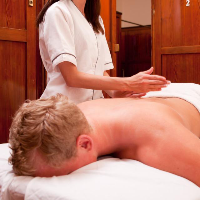 """Percussive Massage"" stock image"