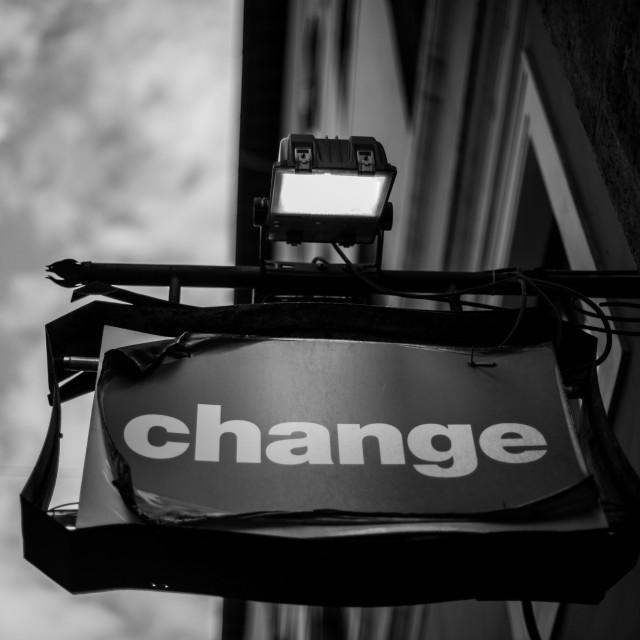 """Change Rome"" stock image"