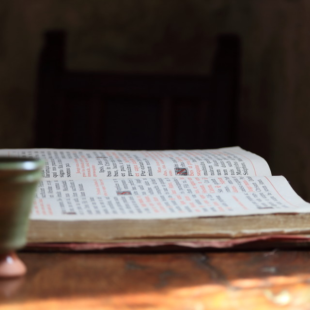 """The old book"" stock image"