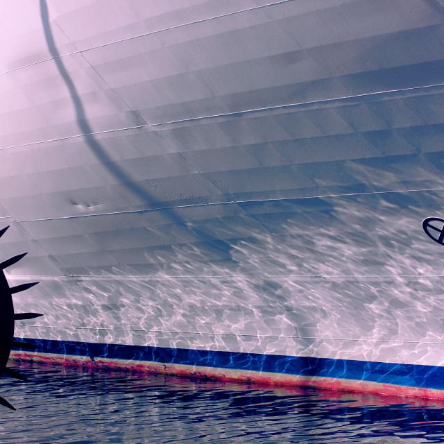 """""""Ship's hull"""" stock image"""