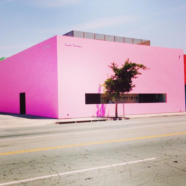 """Paul Smith Store - LA"" stock image"