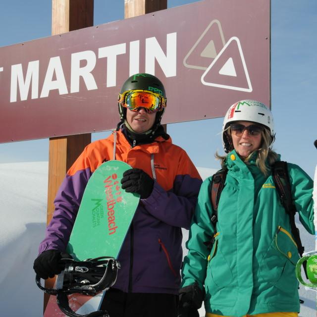 """St Martin de Belleville 2"" stock image"