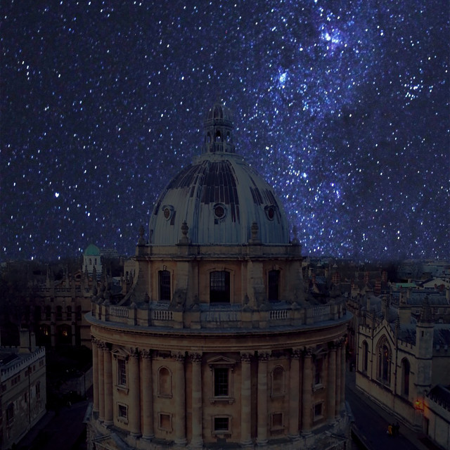 """""""The Bodleian Library, Oxford"""" stock image"""