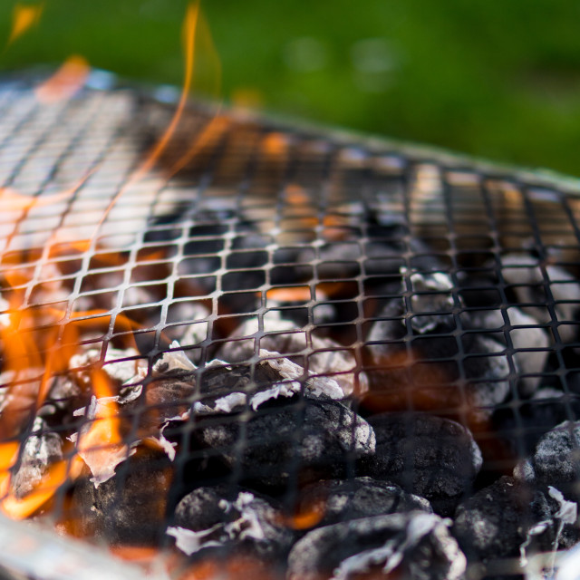 """""""Barbeque Time"""" stock image"""