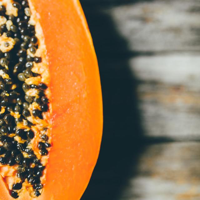 """Papaya"" stock image"