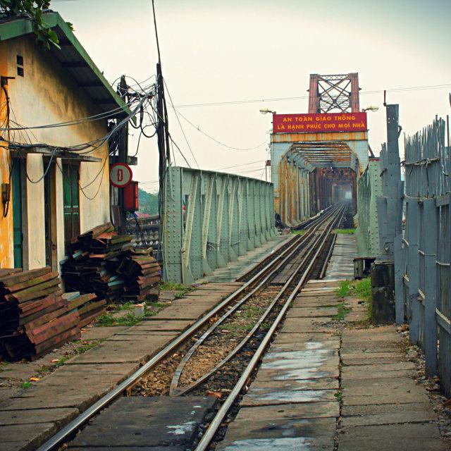 """Train Station in Vietnam"" stock image"