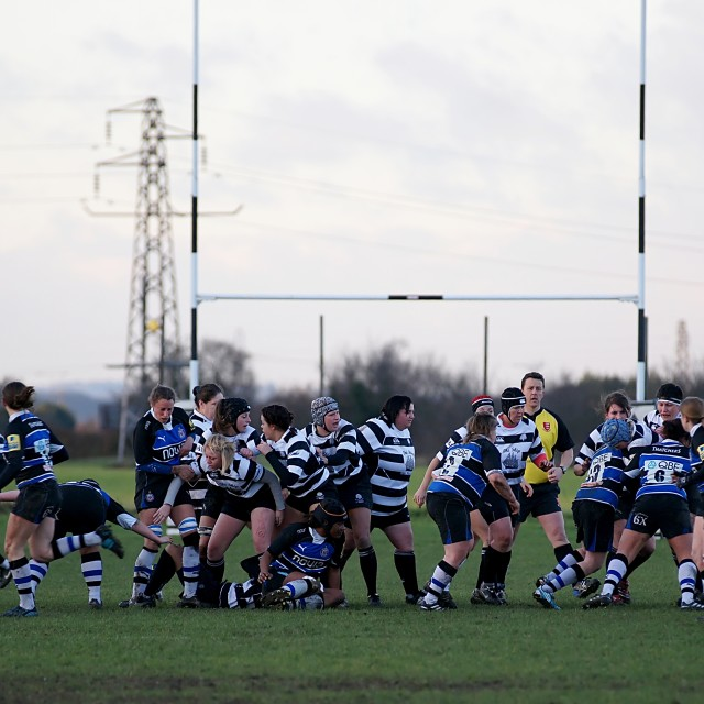 """Ladies Rugby"" stock image"