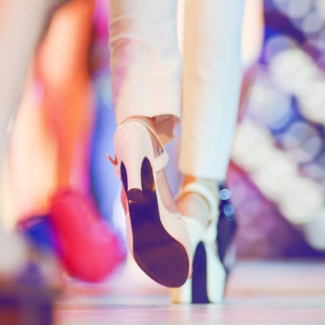 """""""Fashion show catwalk"""" stock image"""