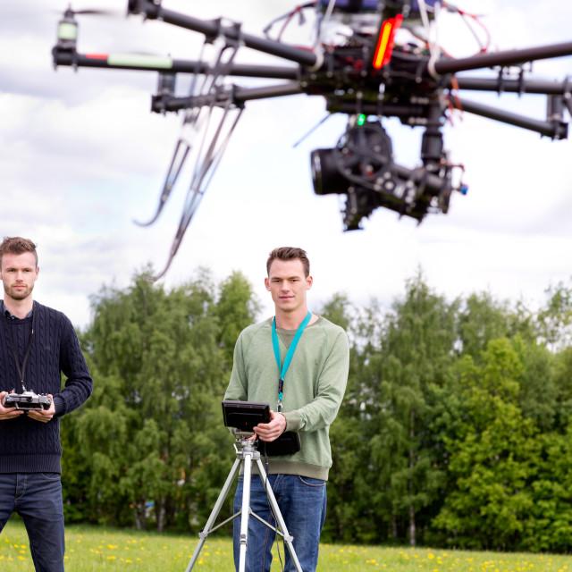 """UAV Photography Drone"" stock image"