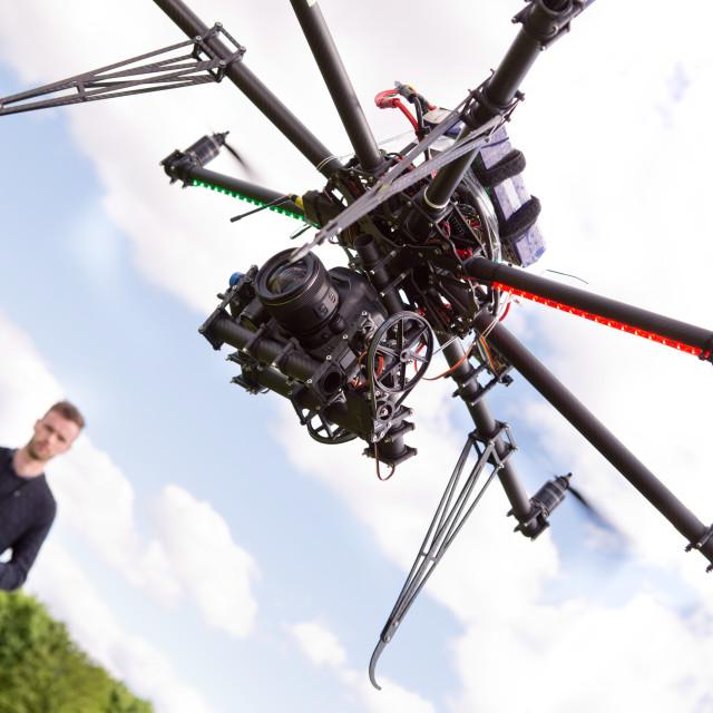 """Photography UAV"" stock image"