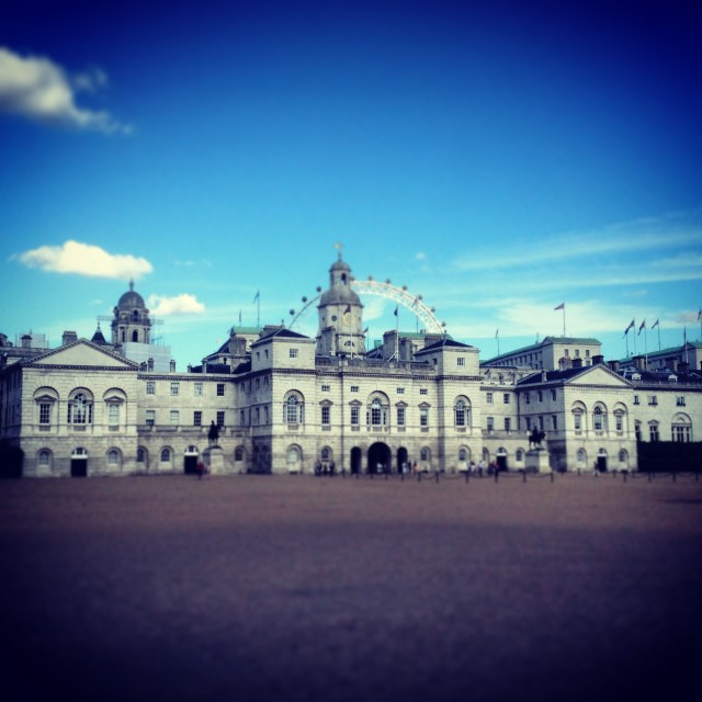 """Horse Guards Parade"" stock image"