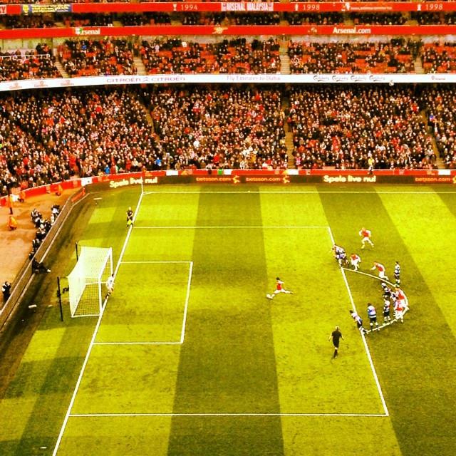 """Arsenal Penalty"" stock image"