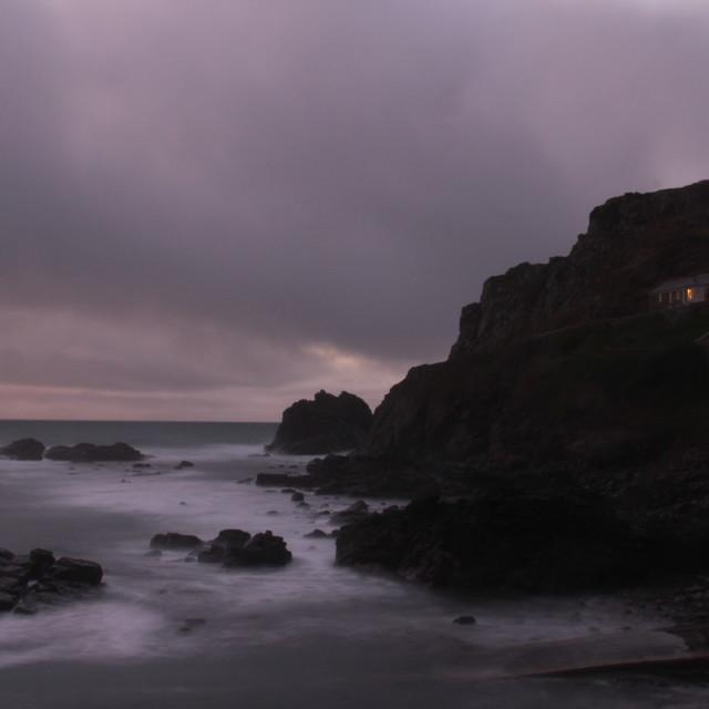 """Cape Cornwall"" stock image"