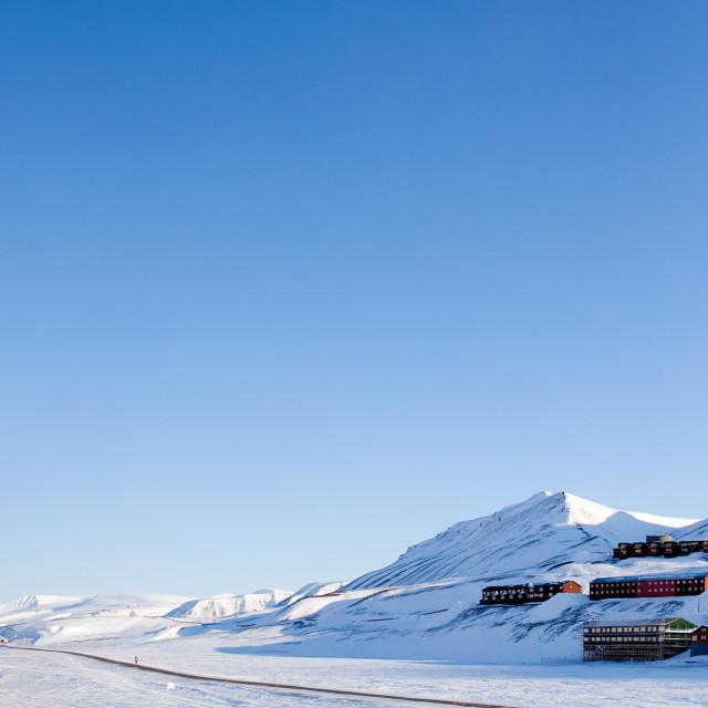 """Longyearbyen"" stock image"