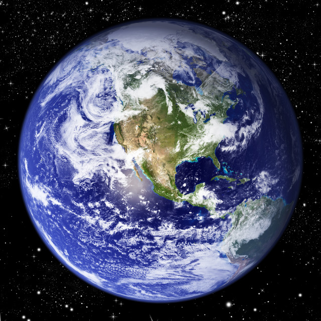 """Planet Earth"" stock image"