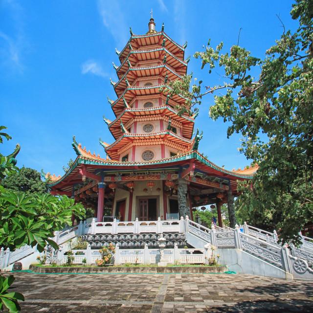 """""""Watugong Pagoda"""" stock image"""