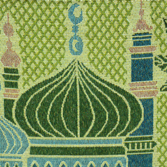 """""""Mosque on fabric"""" stock image"""