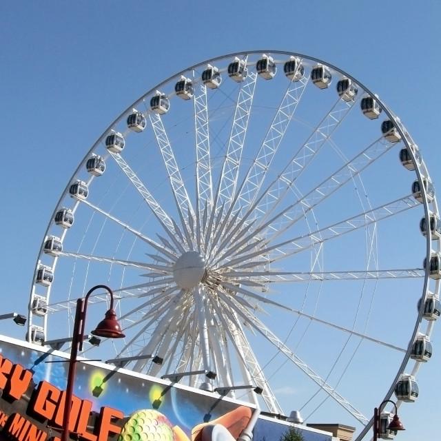 """""""Ferris Wheel"""" stock image"""