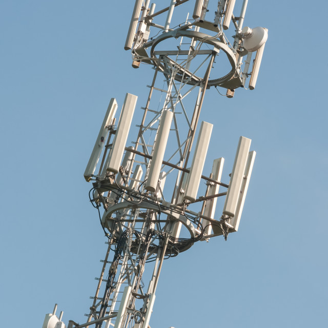 """communications tower"" stock image"