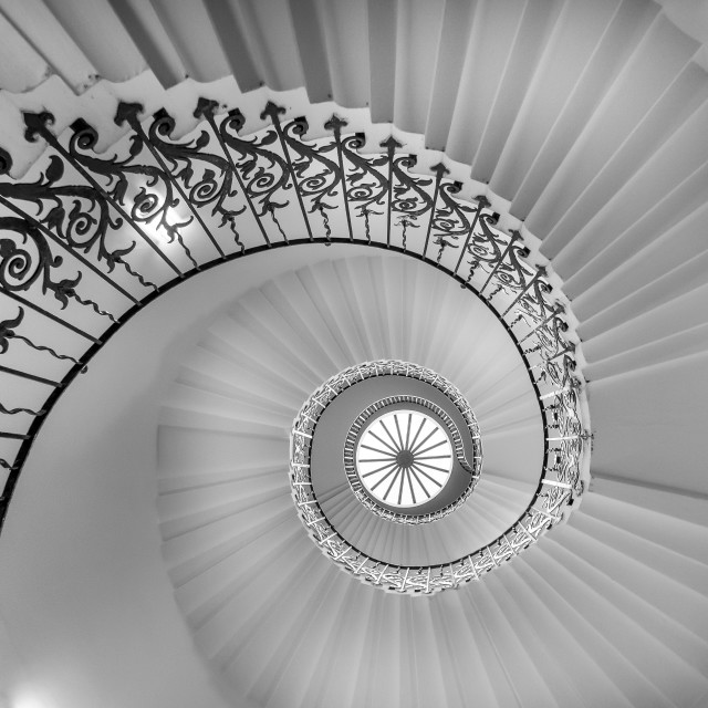 """Tulip Stairs"" stock image"