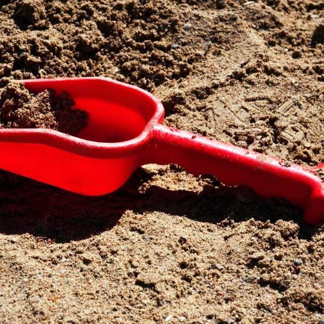 """""""Red spade"""" stock image"""
