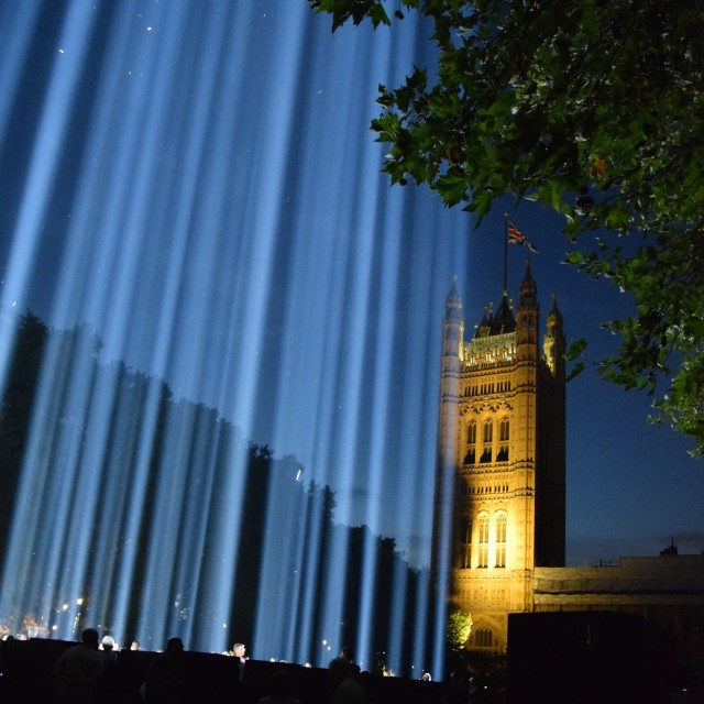 """Spectra at Westminster"" stock image"