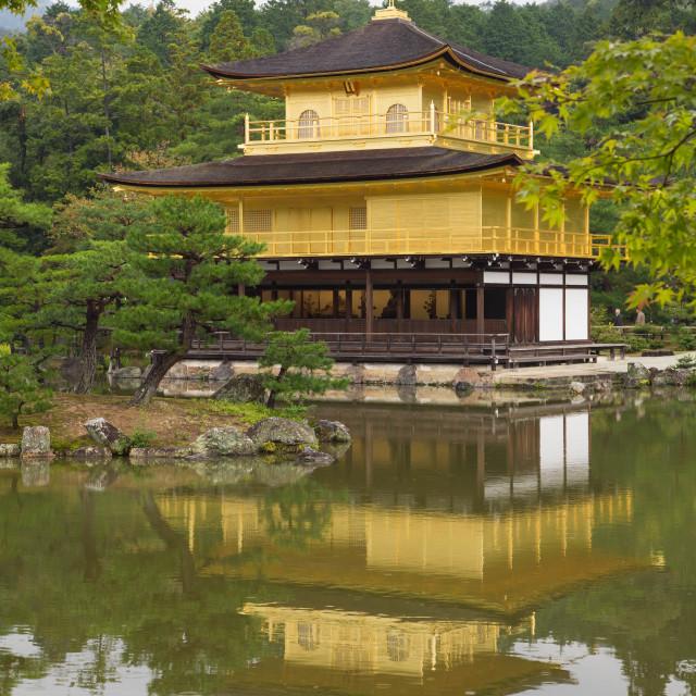 """Kinkakuji temple"" stock image"