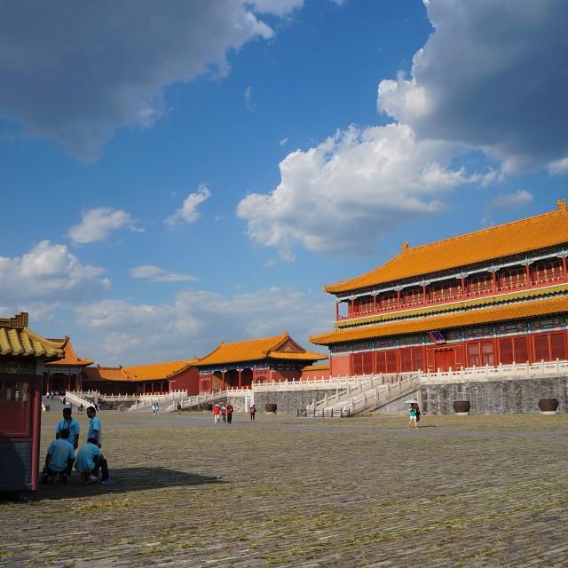 """Forbidden City Kiosk"" stock image"