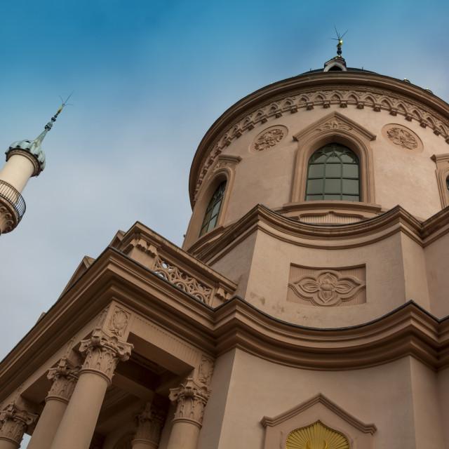 """""""Historic Schwetzingen Mosque"""" stock image"""