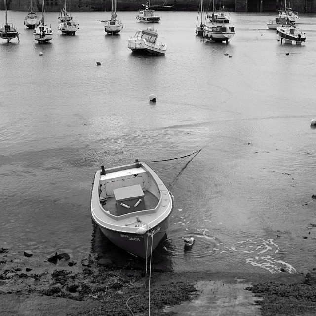 """Penzance Harbour"" stock image"