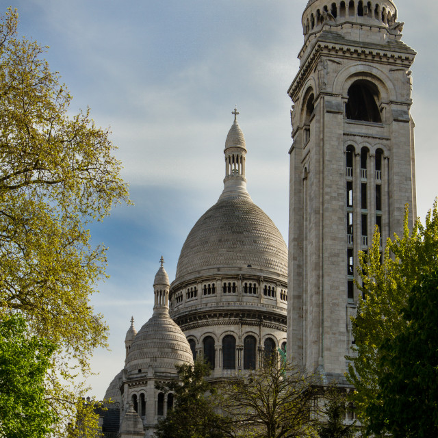 """Scare-Coeur Basilica"" stock image"