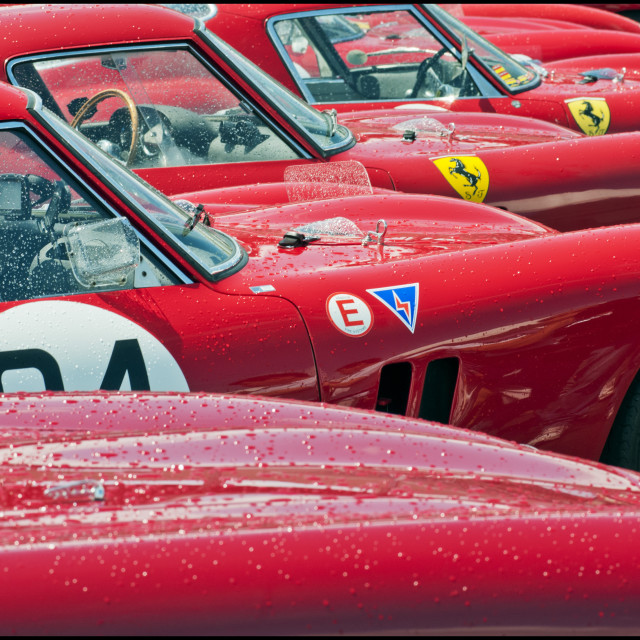 """""""Red Cars"""" stock image"""