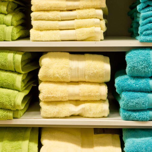 """Towels"" stock image"