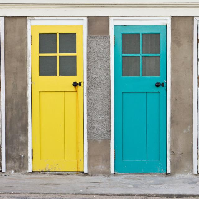 """""""Doors"""" stock image"""