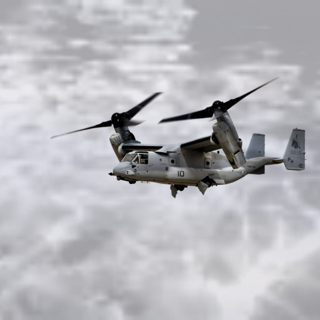 """V-22 Osprey"" stock image"