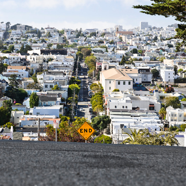 """Residential San Francisco"" stock image"