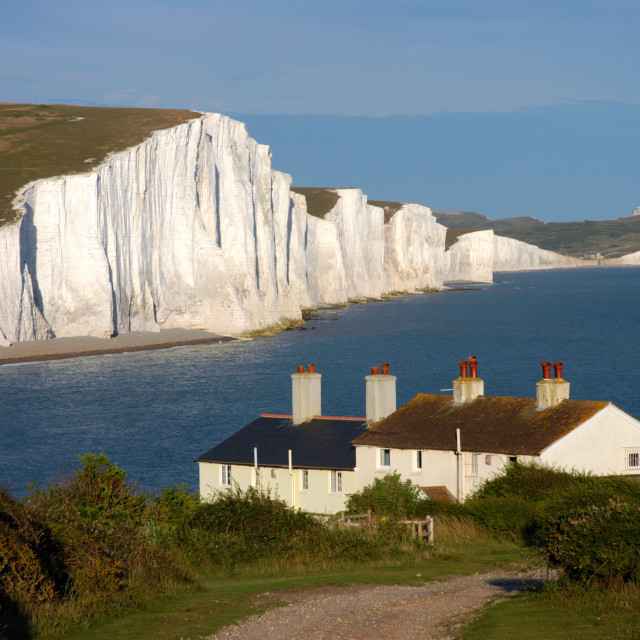 """Cuckmere Haven"" stock image"