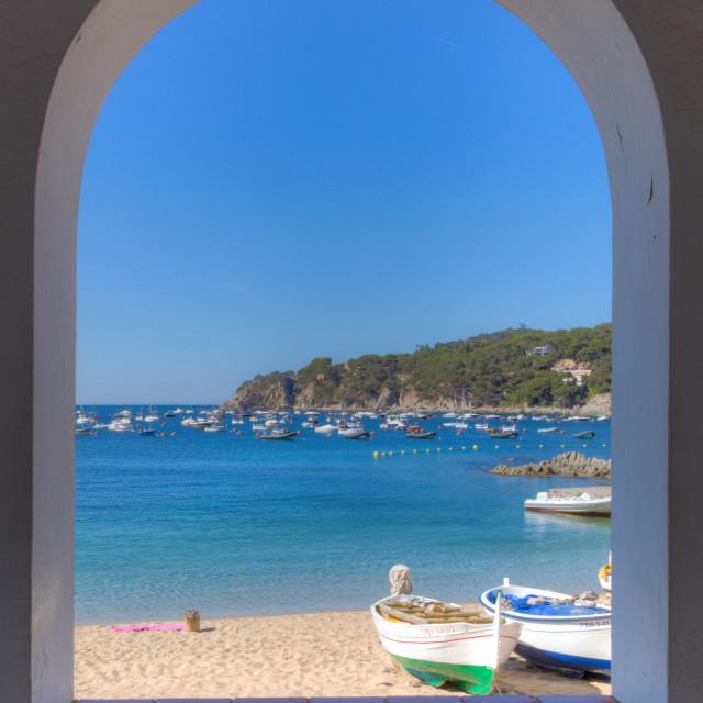 """""""Calella Arch"""" stock image"""