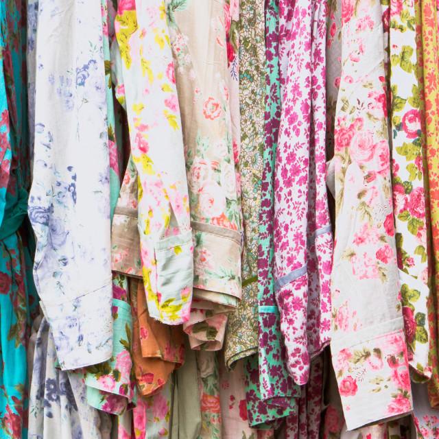 """Vintage dresses"" stock image"