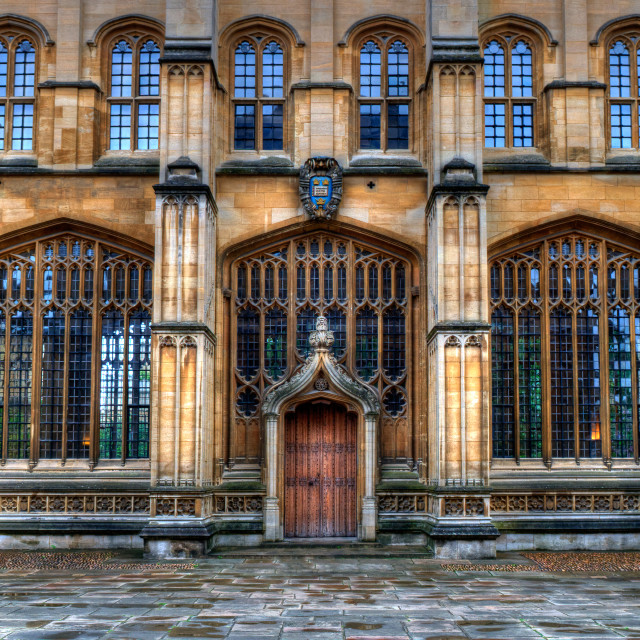 """Divinity School Oxford"" stock image"
