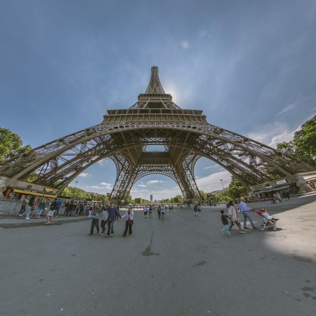 """Eiffel I'm in Love"" stock image"