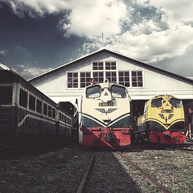 """Train"" stock image"