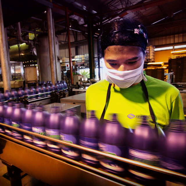 """""""Lubricant Factory"""" stock image"""