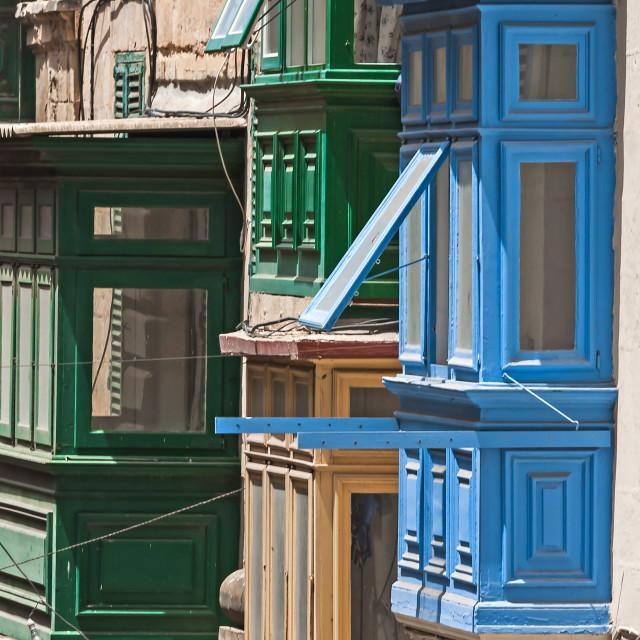 """""""Malta, Valletta"""" stock image"""