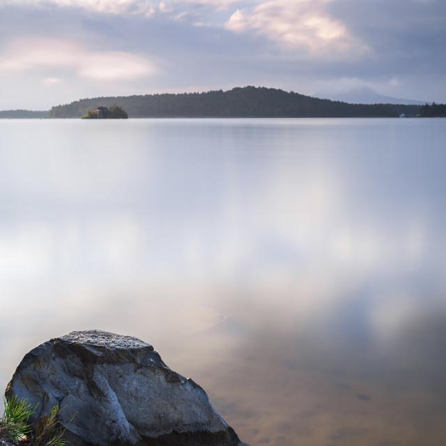 """Macha Lake"" stock image"