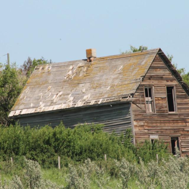 """Abandoned Homestead"" stock image"