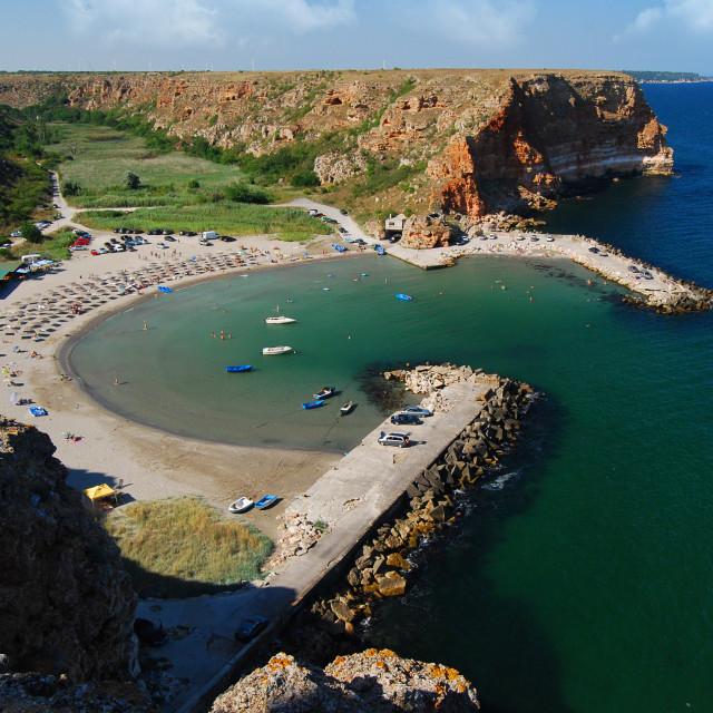 """Bolata beach, Black sea, Bulgaria"" stock image"