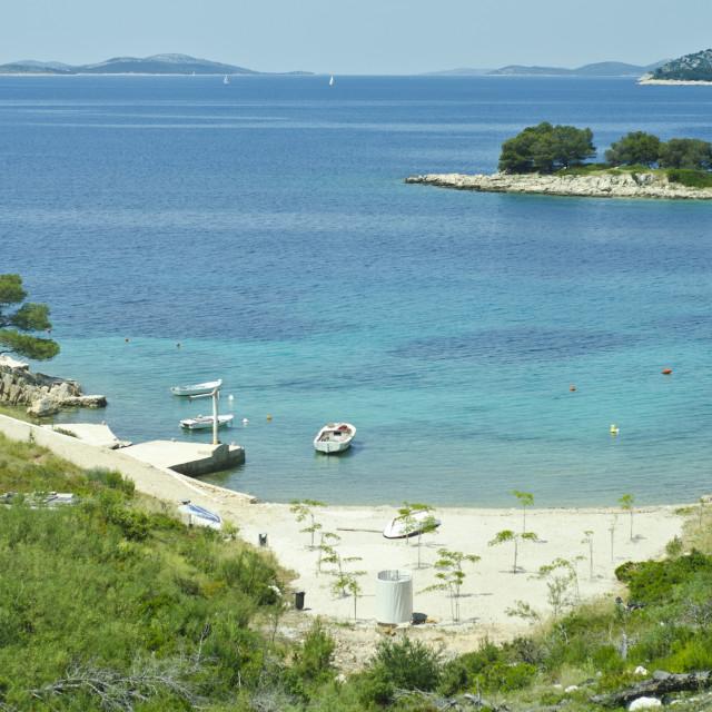 """Croatian coastal landscape"" stock image"